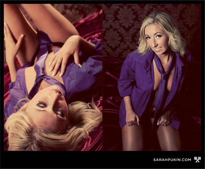 Sarah Pukin Calgary Boudoir Photographer