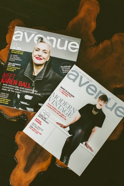 Avenue Magazine Calgary - Alloy Wedding Photography