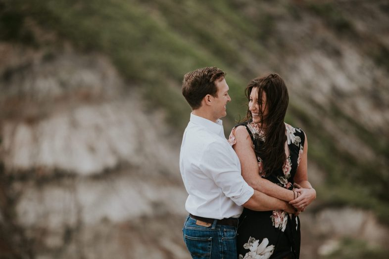 Drumheller Hiking Adventure Engagement Session 8