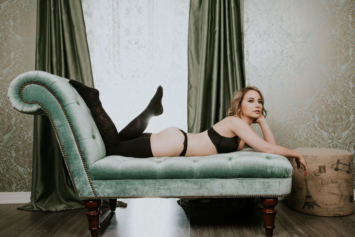 Something Sultry - Calgary Boudoir Photography