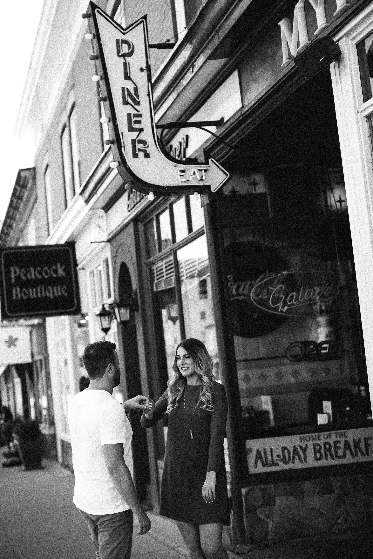 Downtown Calgary Engagement Photos 21