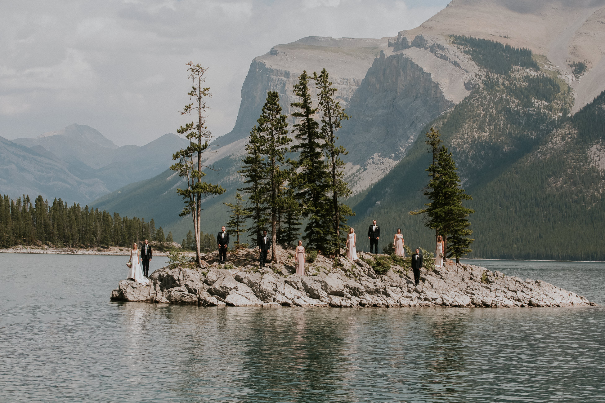 Buffalo Mountain Lodge Wedding Photographer Banff