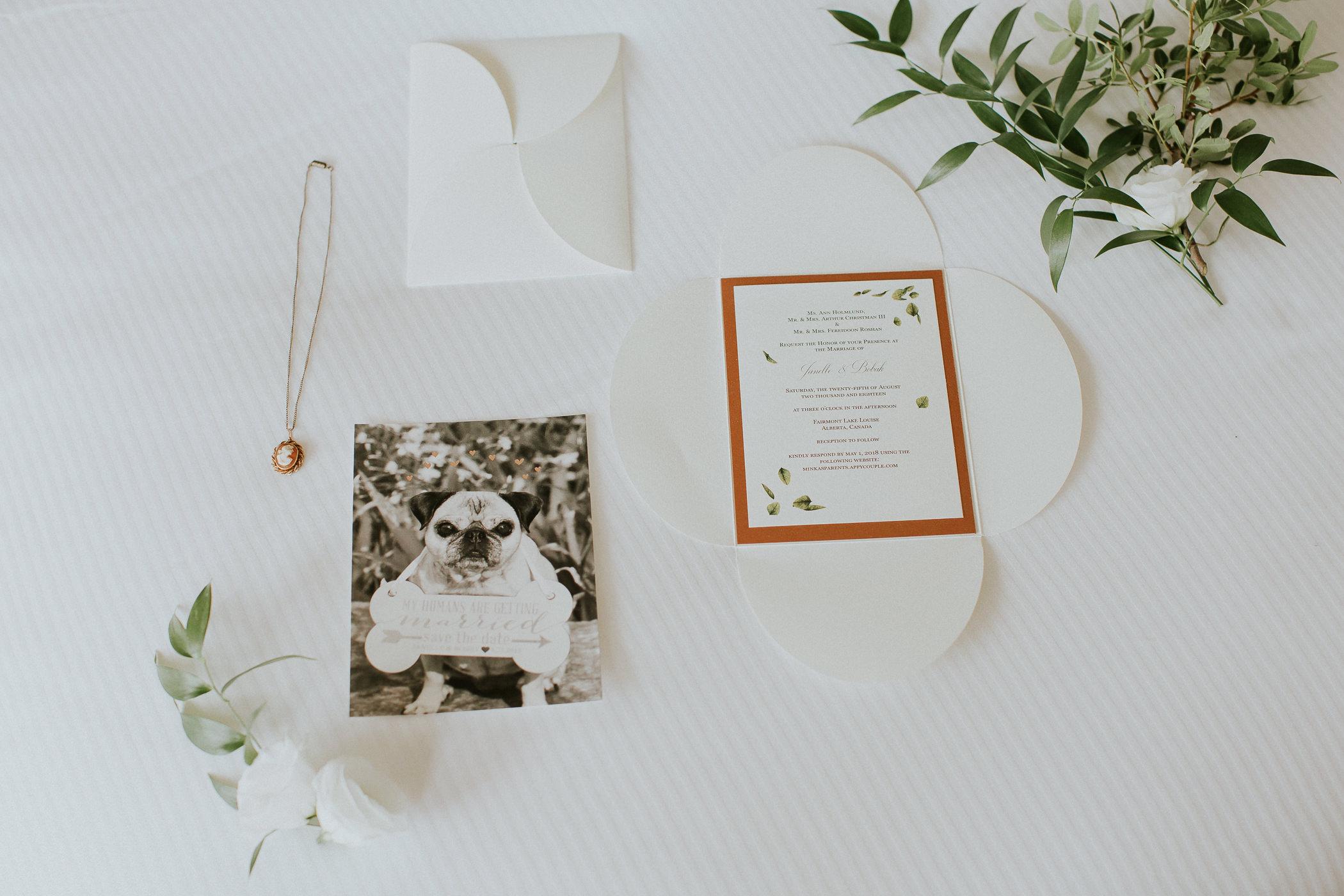 Fairmont Chateau Lake Louise Wedding