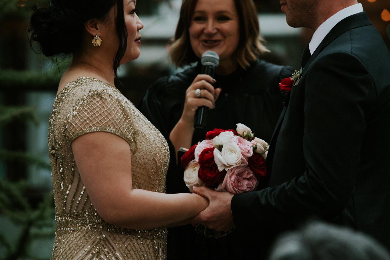 Jadine and Mark - Calgary Wedding at Alloy Restaurant