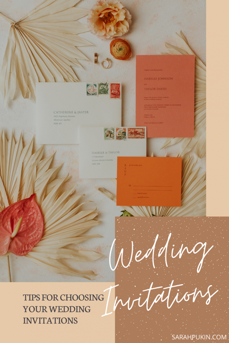 Tips for Choosing your Wedding Invitations Icon
