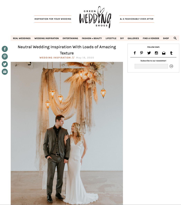 Green Wedding Shoes - Sarah Pukin