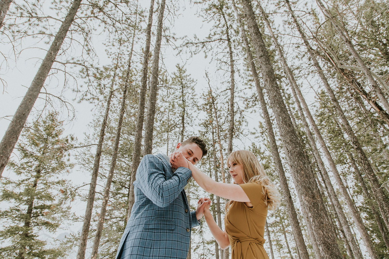 Engagement Photos with Banff Photographer Sarah Pukin. 3