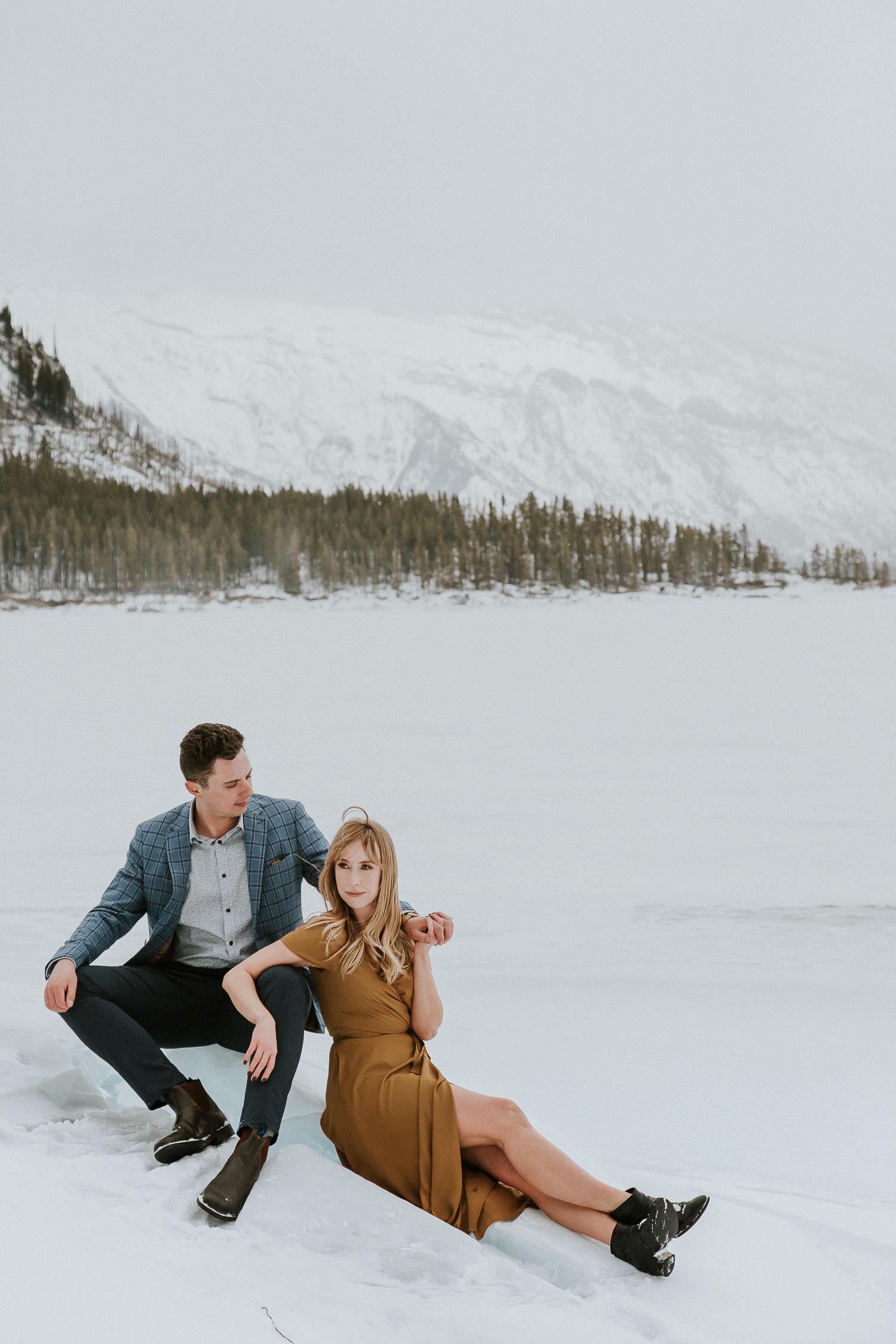 Engagement Photos with Banff Photographer Sarah Pukin. 2