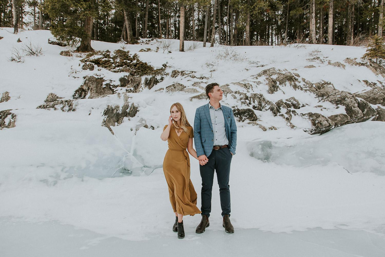 Engagement Photos with Banff Photographer Sarah Pukin.