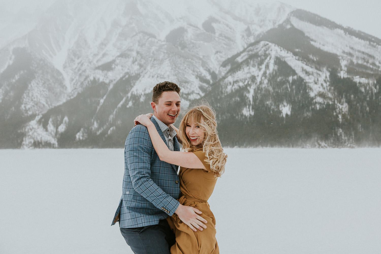Engagement Photos with Banff Photographer Sarah Pukin. 4