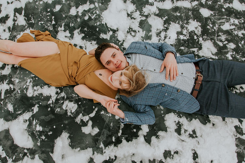 Engagement Photos with Banff Photographer Sarah Pukin. 1