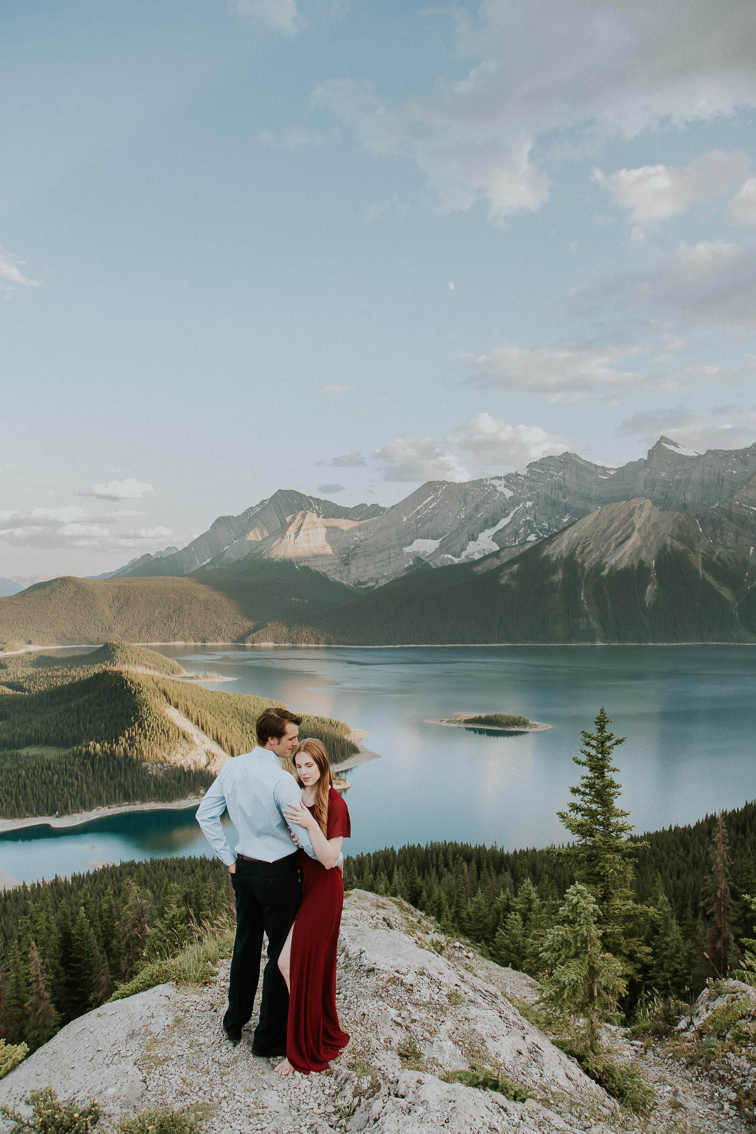 Views from the top of a mountain in the Canadian Rockies - Sarah Pukin
