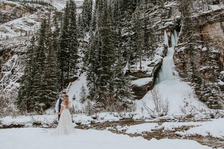 Lake Louise Alberta wedding