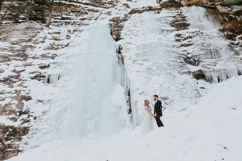 canadian rocky mountain elopement photographers Sarah Pukin 1