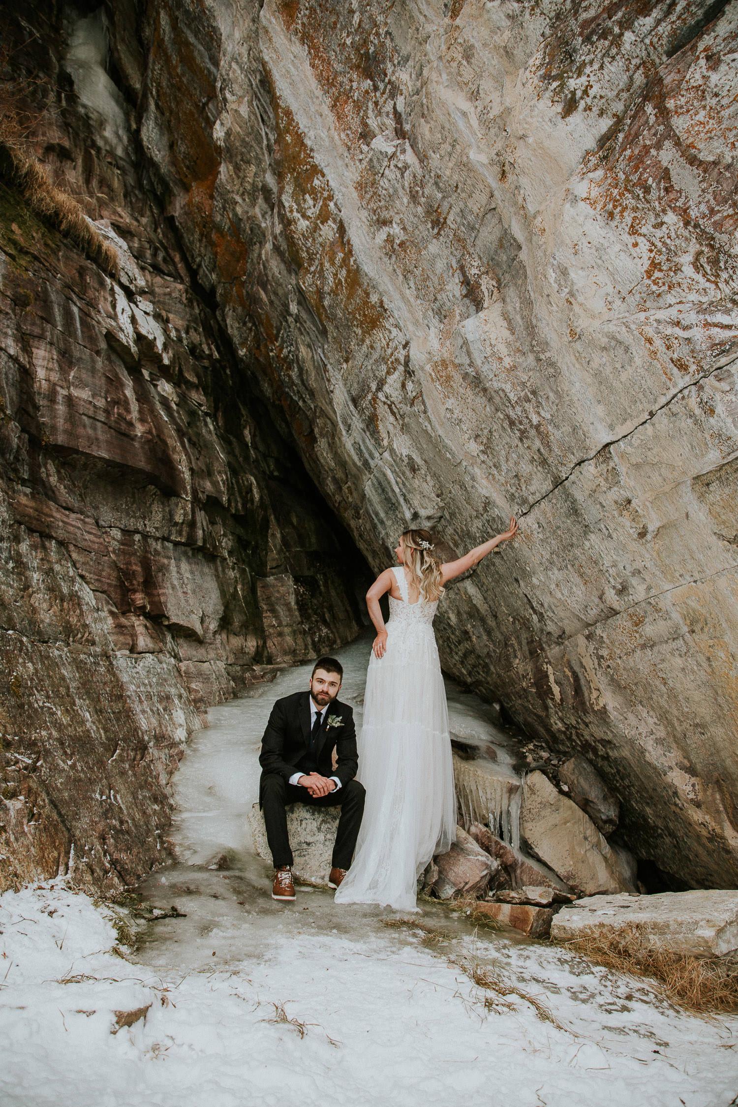 Canadian Rocky Mountain wedding photographer Sarah Pukin
